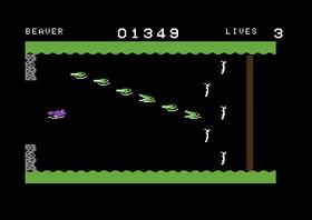 Beaver-nivået på C64.