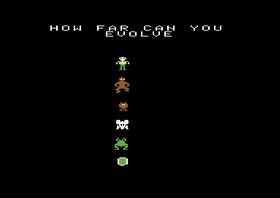 Hvor langt kan du utvikle deg? (Commodore 64-versjonen)