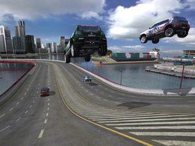 Bildene er fra TrackMania United Forever