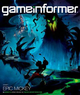 Omslaget til novembernummeret av Gameinformer