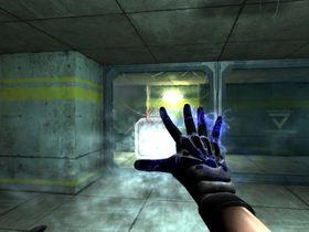 Høyteknologiske hansker.