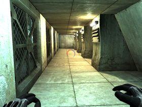 En korridor. Spennende?