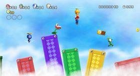 Klassisk Mario-spilling for fire personer