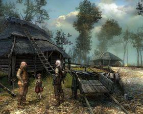 Bilde fra The Witcher.