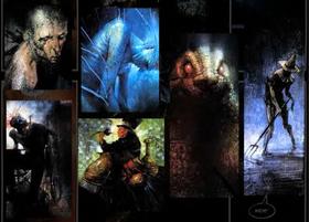 Clayface, Dr Doom, Zeuz, Madhatter, Killer Croc og Scarecrow