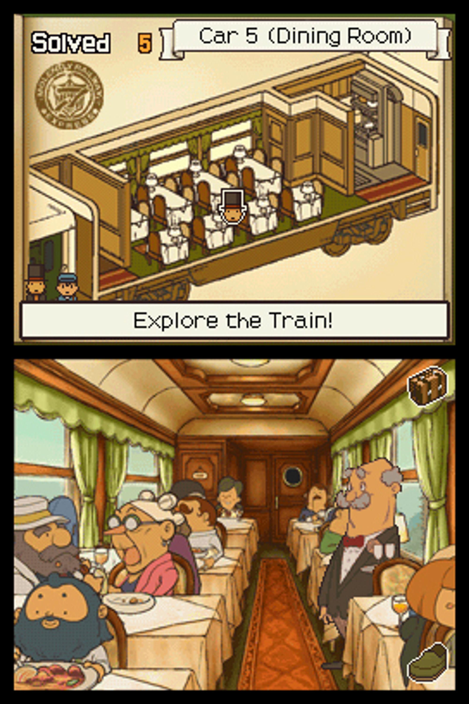 Du tilbringer stor deler av spillet på dette toget.
