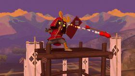 De røde samuraiene er litt tøffere enn de andre, sjekk ut denne pilen!