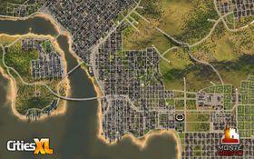 Lek byplanlegger i Cities XL.