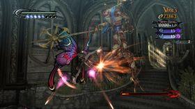 Bayonetta har vinger, men er definitivt ingen sommerfugl.