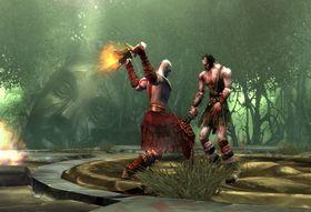 Slik så God of War II ut på PS2.