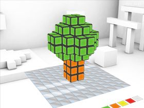 Bildene er fra Rubik's Puzzle World
