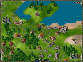 The Settlers 2: Gold (PC).
