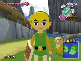 The Legend of Zelda: The Wind Waker.