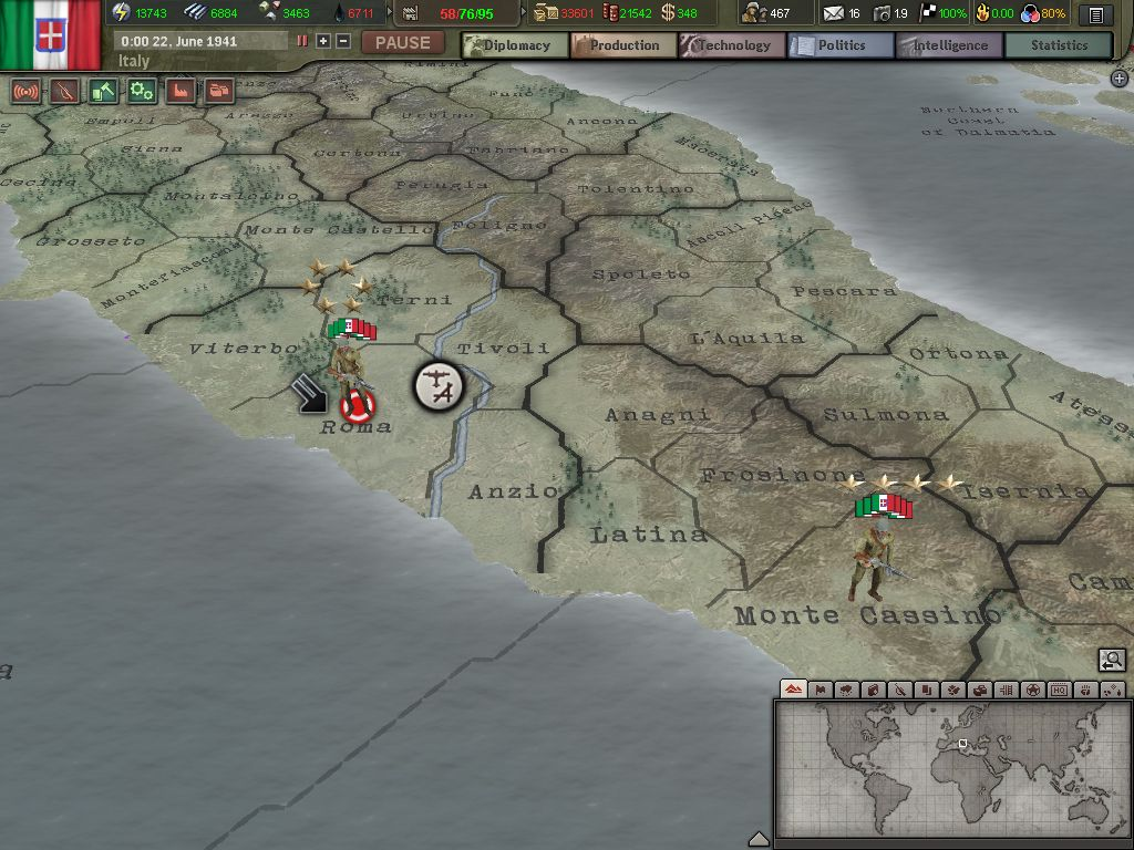 hearts of iron 3 how to produce money