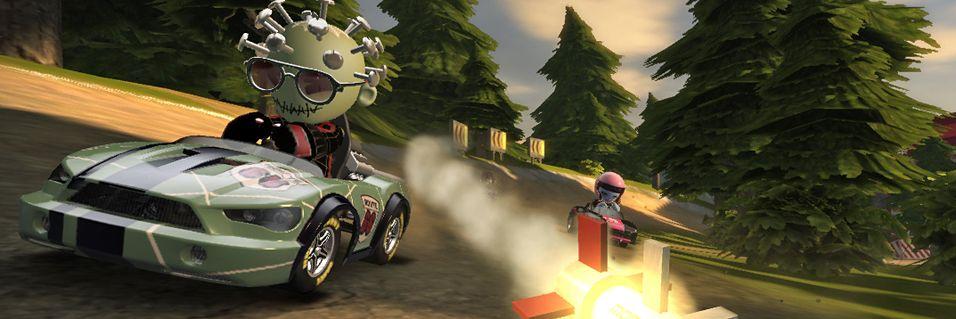 TrackMania møter Mario Kart?