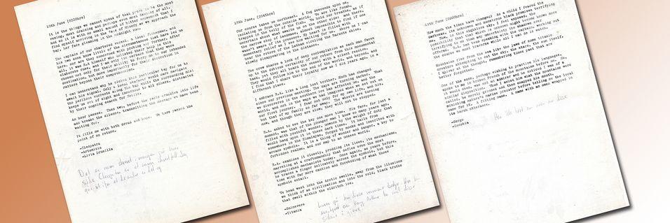 Notater fra Amundsens forsvinning