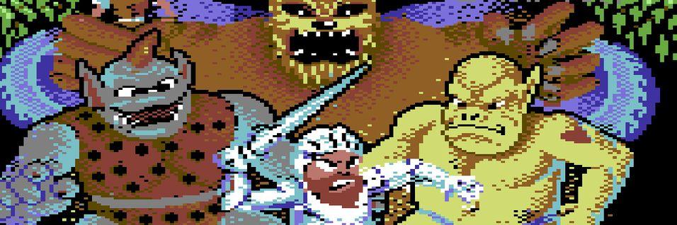 KOMMENTAR: Ventemoro på Commodore 64