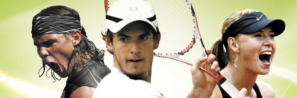Nadal og Federer med på leken