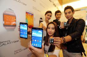 Galaxy Gear går overens med blant annet Galaxy Note 3.