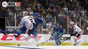 Taklingene er knallharde i NHL 14.