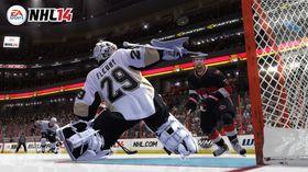 Man kan ikke være noen pingle som keeper i ishockey.