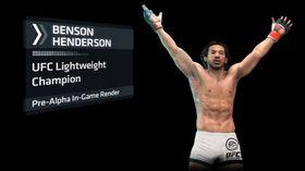 Ein av dei mannlege krigarane i UFC.