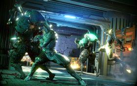 Warframe har valgt å legge spillfigurens spesielle evner til bevegelser på berøringsplaten.