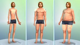 Interkative skulpturar i The Sims 4.
