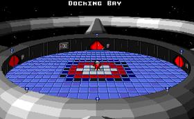 Romstasjonen som er utgangspunkt for eventyret (Amiga).