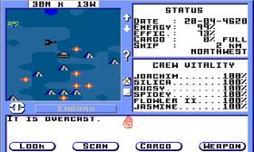 Dette er hva de kaller «paydirt» (Amiga).