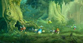 Skjermbieete frå Rayman Legends.