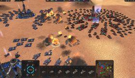 Conquer Mars vil by på slag av solid storleik.