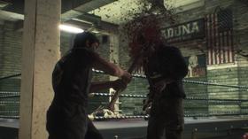 Om du trudde Capcom ville tone ned blodsporuten tok du feil!