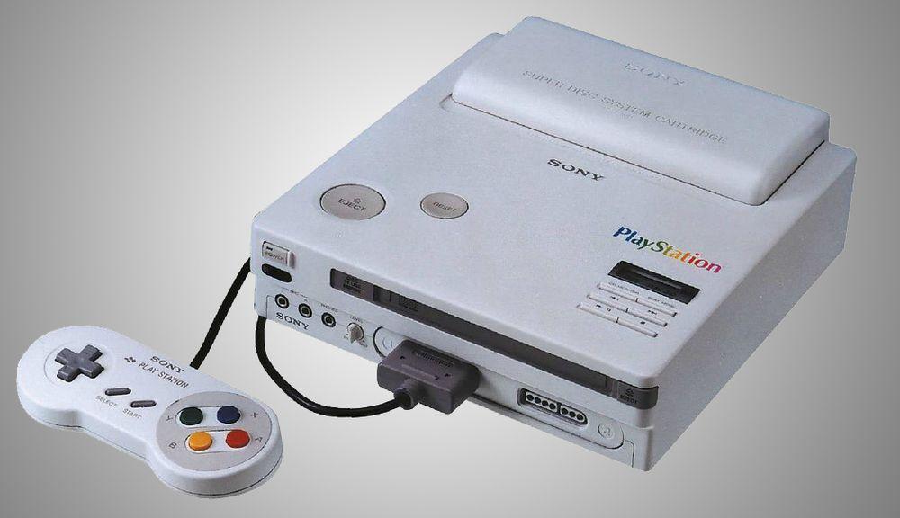 Det er lett å se likheter mellom Play Station og Super Nintendo. (Foto: Edge Magazine/Sony).