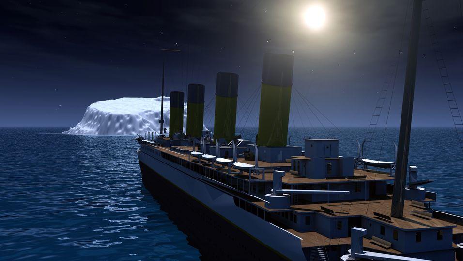 Sjeldent Titanic-bilde auksjoneres ut