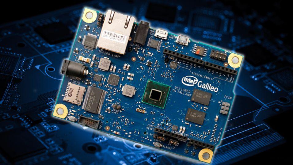 Intel byr på knøttemaskin som støtter Arduino