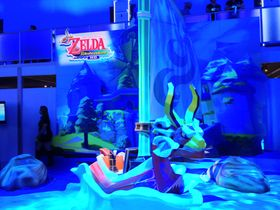 The Legend of Zelda: Wind Waker HD stiller med egen stand. (Foto: Audun Rodem, Gamer.no)