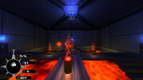 Spillet bruker Minecraft-aktig «voxel»-grafikk.