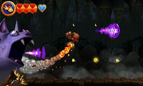Flyveseksjonene er ikke blant spillets sterke sider.