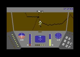 Pilot på vei mot redningen.