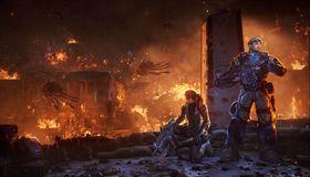 Et vanlig skue i Gears of War.
