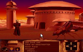 En av smuglerne på Arrakis.