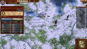 Vinter i Europa.