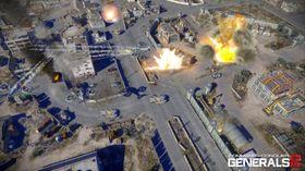 Bilde fra spillet da det het C&C: Generals 2.