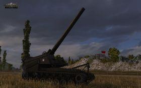 Artilleri-trærne utvides.