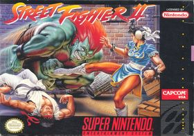 Street Fighter II for Super Nintendo.