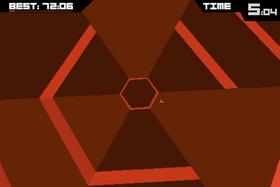 Super Hexagon.
