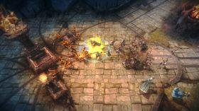 Mange varianter av brun i spillet.
