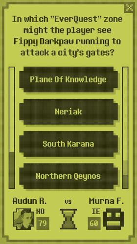 Video Game QuizUp.