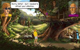 Flotte bakgrunner og grafikk i spillet.